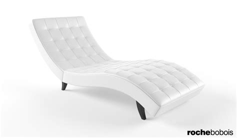 roche bobois dolce chaise lounge 3d model max cgtrader