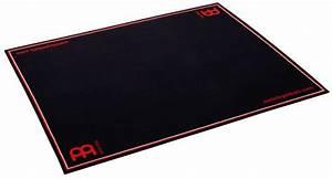 Meinl tapis de sol pour batterie noir for Tapis de batterie
