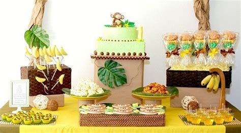 Monkeys & Bananas First Birthday {guest Feature