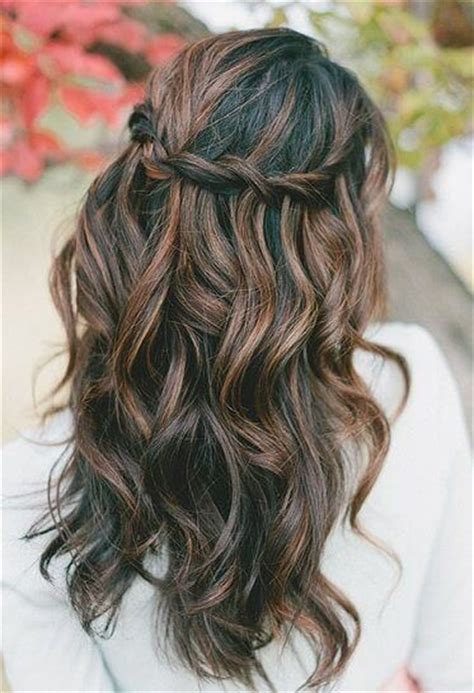 hairstyle ideas  brown hair  highlights