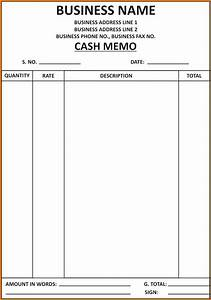 7 cash bill format in word free download simple bill for Sample bill format in word