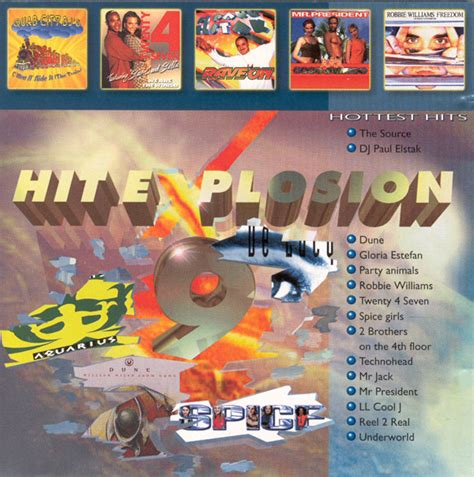 Various  Hit Explosion 9 (cd) At Discogs