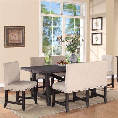 modus yosemite  piece rectangular dining table set
