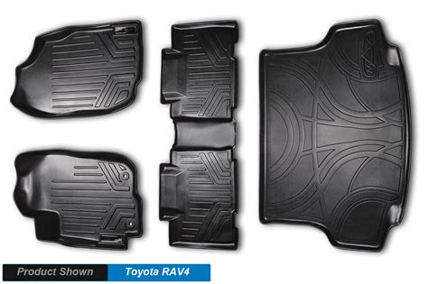 floor mats rav4 all weather floor mats complete set and cargo liner bundle rav4 rav 4 black ebay