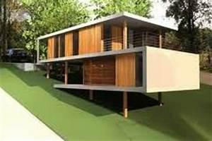 maison bois modulaire maison bois ronde maison bois sur With plan maison bois sur pilotis