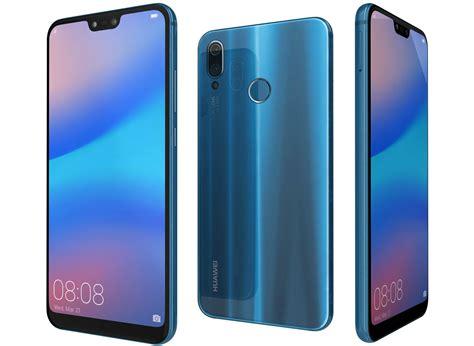 Huawei P20 Lite Klein Blue 3D | CGTrader