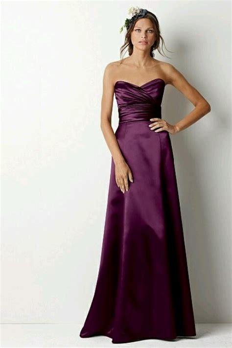 plum colored dress plum colored bridesmaid dress bridesmaids dresses