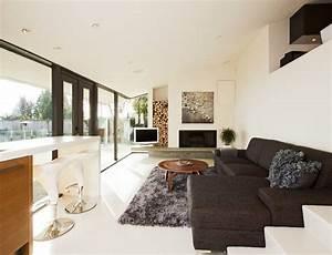 rangement bois de chauffage pour linterieur en 55 idees With tapis shaggy avec canapés pour l apéritif