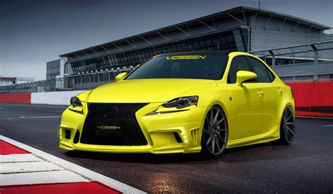 lexus is350 custom official 2014 lexus is350 f sport by vossen wheels gtspirit
