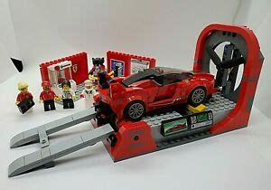 This set features a wind tunnel with a. Lego 75882 Speed Champions Ferrari FXX K And Development ...
