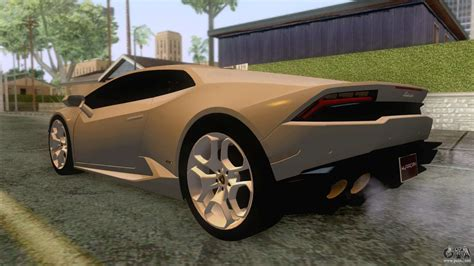 Lamborghini Huracan Modification by Lamborghini Huracan For Gta San Andreas