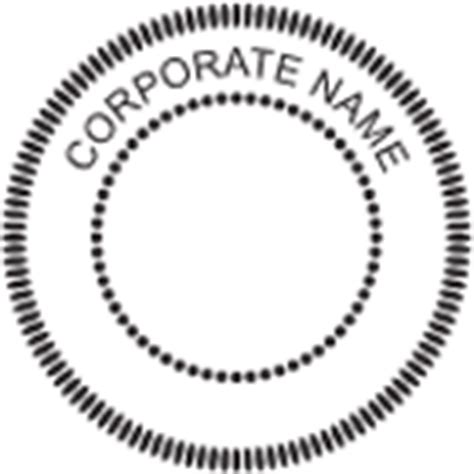 corporate seal template corporate minute book kits or record books