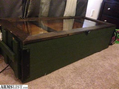 Armslist  For Sale Mosin Rilfe Crate Coffee Table