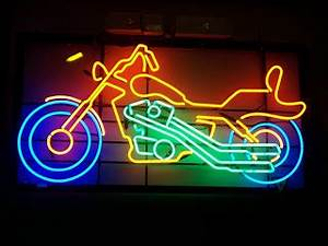 Wiki Neon Sign Blog Motorcycle Neon Sign Good for Bike