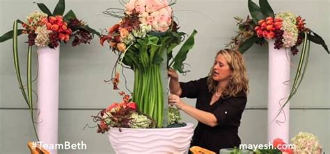 how to make an arrangement of flowers how to create a stunning autumn floral sculpture 171 flower arrangement wonderhowto