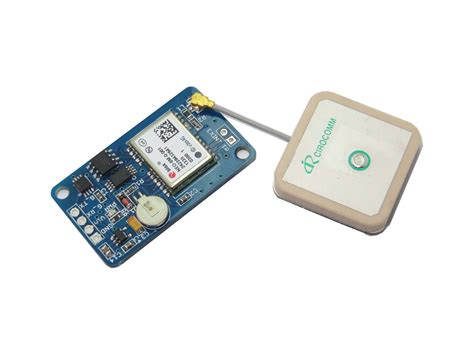 Ublox Neo-6m Gps Module (3.3v-5v Interface,with Eeprom