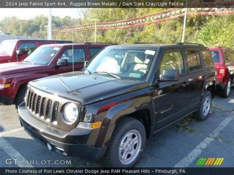 dark brown jeep rugged brown metallic 2014 jeep patriot sport 4x4 dark
