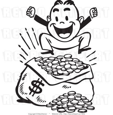 money clipart black and white clip money border clipart panda free clipart images