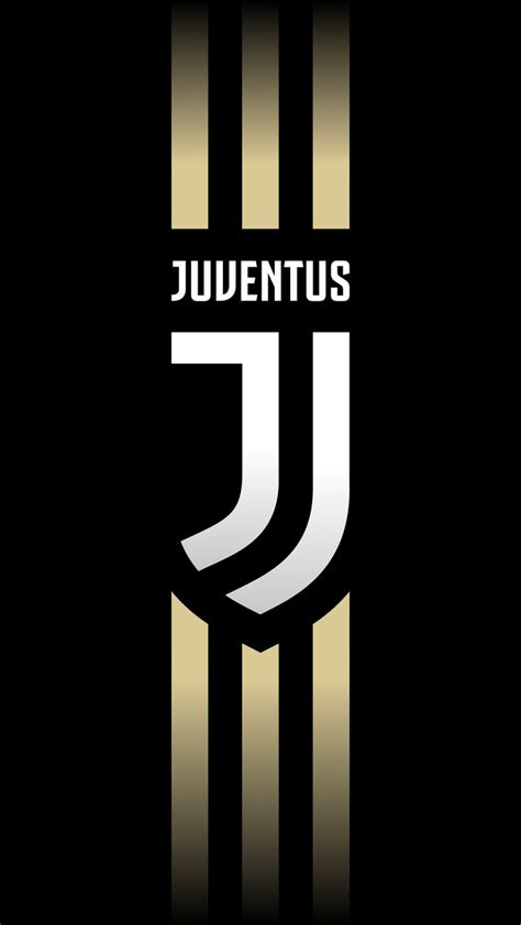 juventus logo wallpaper iphone android bola kaki