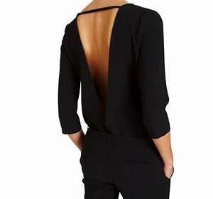 Combinaison Pantalon Femme Mariage : patron couture combinaison pantalon femme ~ Carolinahurricanesstore.com Idées de Décoration