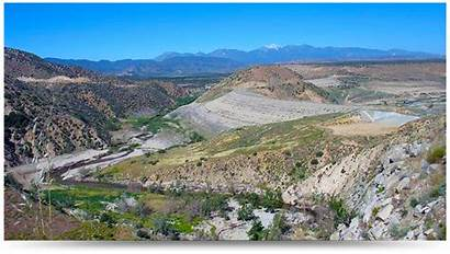 Mojave Ancient Watershed Project River Dam