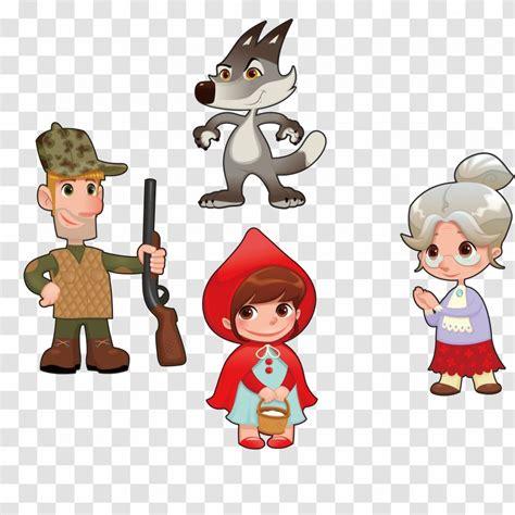 Cute cartoon robin hood boy character vector. Little Red Riding Hood Cartoon Character Illustration ...