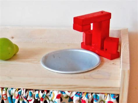 play kitchen sink faucet easy play kitchen hgtv