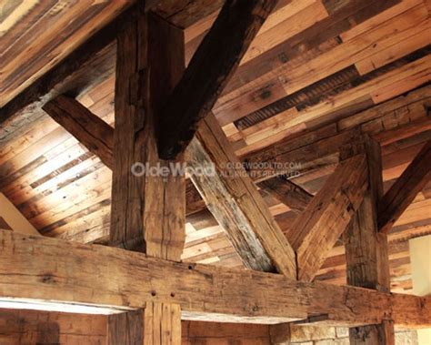 barn wood beams for wide plank flooring reclaimed wood products olde wood