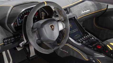 2017 Lamborghini Centenario Lp770-4 6.5-liter V-12 Engine