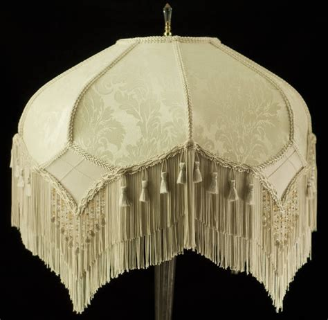 l shade fabric suppliers stunning vintage look victorian lampshade ivory damask