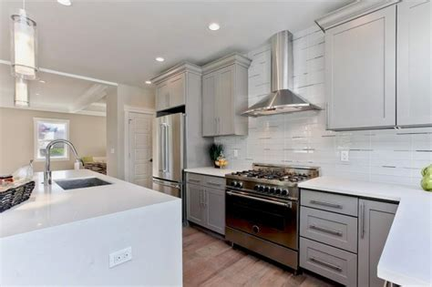 grey shaker kitchen cabinets grey shaker maple pius kitchen bath 4088