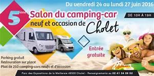 Salon Camping Car Paris 2016 : 5 me salon du camping car de cholet ~ Medecine-chirurgie-esthetiques.com Avis de Voitures