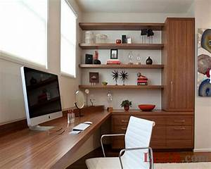 Modern custom small office design ideas home office design for Home office desk design