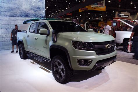 chevy concept truck chevy rolls truck concepts into sema ready for surf and