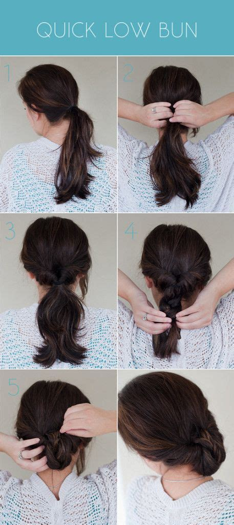 hair side bun styles easy peasy hairstyle finishing touches 8388