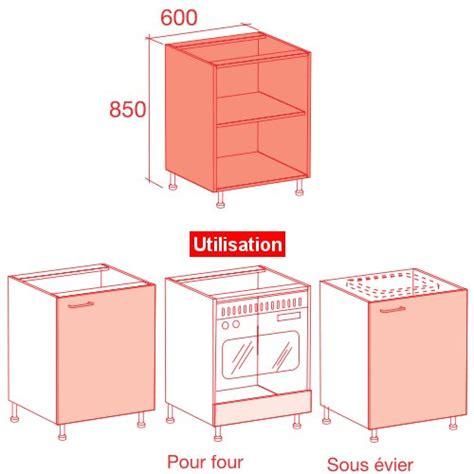 meuble cuisine largeur 50 cm meuble caisson bas largeur 60 vial menuiserie cuisine