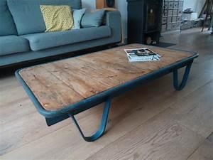 Table De Salon Industrielle : table de salon industrielle catawiki ~ Teatrodelosmanantiales.com Idées de Décoration