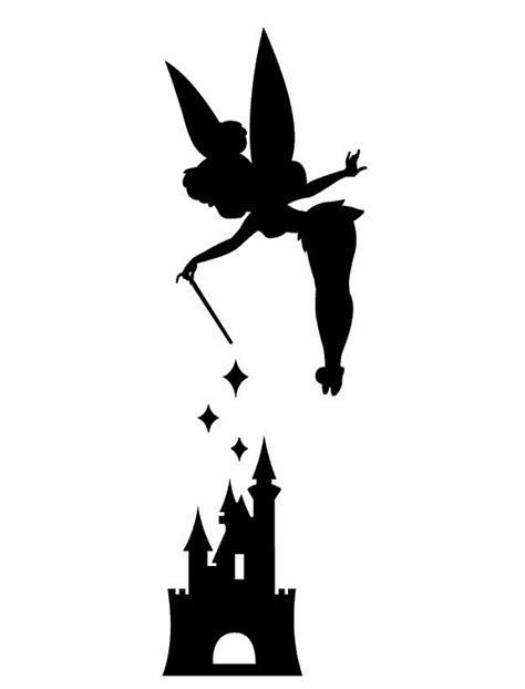 Tinkerbell Pumpkin Carving Stencil Free by Princess Stencil Printable Clipart Best