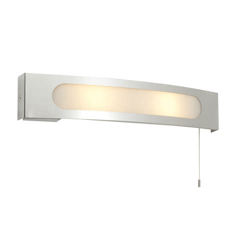 endon 39148 convesso bathroom shaver wall light