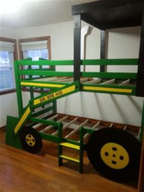 toddler tractor bed my pintress creations pinterest