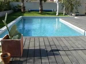terrasse piscine en beton cire With superior jardin autour d une piscine 7 amenagement exterieur en beton desactive terrasse