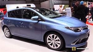 Toyota Auris 2015 : 2016 toyota auris exterior and interior walkaround 2015 geneva motor show youtube ~ Medecine-chirurgie-esthetiques.com Avis de Voitures