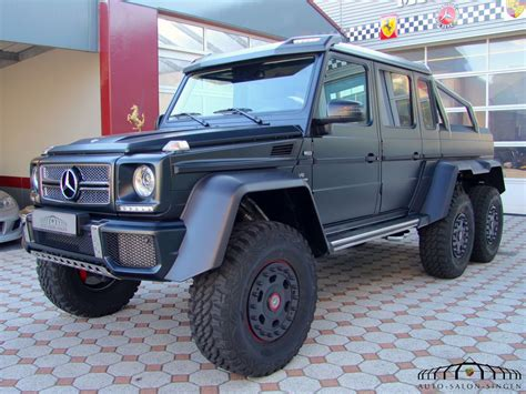 Then browse inventory or schedule a test drive. Mercedes-Benz G 63 AMG 6x6 Suv - Auto Salon Singen