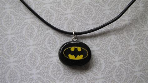 collier gar 231 on batman en p 226 te polym 232 re collier par