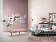 1000 idees sur salons roses sur pinterest interieurs With good couleur tendance peinture salon 1 couleur on fait sa deco en rose et bleu pastel