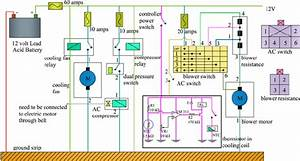 Controller Circuit Used In The Test Rig In Lieu Of Ecu