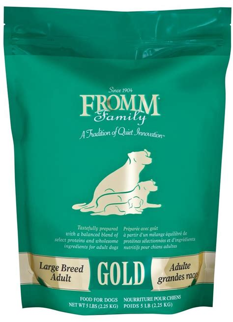 fromm gold large breed adult formula dry dog food petflow
