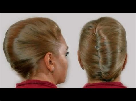 quick hairstyle  long hair   vintage