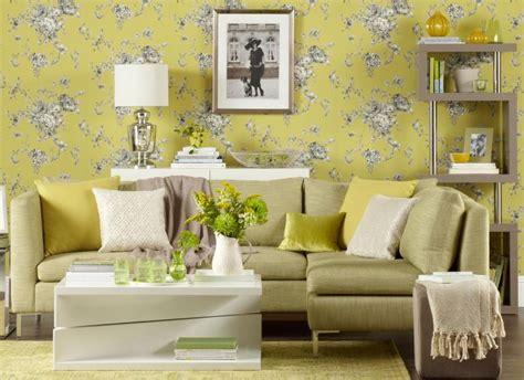 transform  living room  statement wallpaper