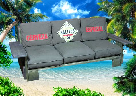 Salitos Lounge Sofa Loungsesofa Surf Beach MÖbel Deko